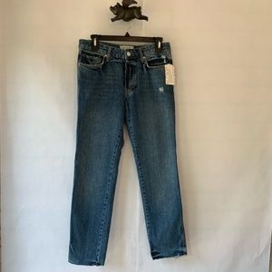NWT Free People Slim Boyfriend OB727193 Jeans, 25